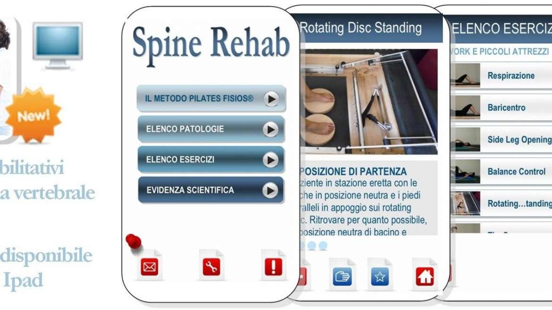 App medica Pilates Fisios® Spine Rehab